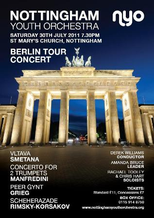 Berlin Tour 2011 - Flyer