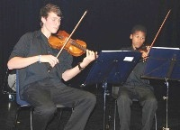 NYO string quartet