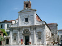 The Church of San Giovanni, Lucca