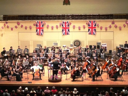 The evening performance of Elgar's cello concerto