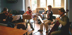 String Quartet coaching day